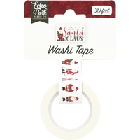 Echo Park Here Comes Santa Claus Decorative Tape Santa Claus