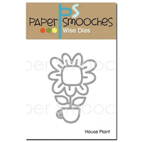 Paper Smooches Die House Plant