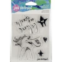 Jane Davenport Artomology Clear Stamp Unicorn Sparkle