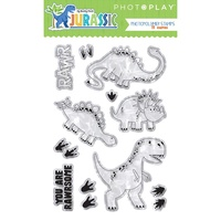 PhotoPlay Paper Jurassic Photopolymer Stamp