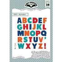 Karen Burniston Die Alphabet 28pc