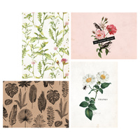 Kaisercraft Kaiserstyle Botanica Collection Card & Envelope Set 8pk