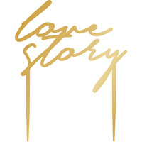 Kaiserstyle Forever Acrylic Cake Topper Love Story