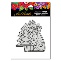 Stampendous Cling Stamp Feline Christmas