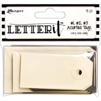 Ranger Letter It Tag Assortment