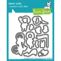 Lawn Fawn Lawn Cuts Die Bicycle Built for You