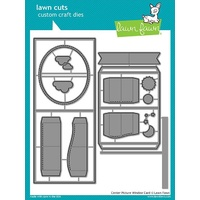 Lawn Fawn Lawn Cuts Die Centre Picture Window Card