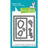 Lawn Fawn Lawn Cuts Die Centre Picture Window Add-On