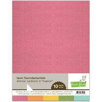 Lawn Fawn Shimmer Cardstock Tropical