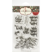 Colorado Craft Company Lovely Legs Stamp Fairy Magic