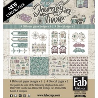 Fabscraps Card Kit Journey in Time