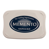 Tsukineko Memento Dye Ink Pad Nautical Blue