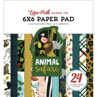 "Echo Park Animal Safari 6"" Paper Pad"
