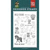 Echo Park Animal Safari Stamp Wild Thing