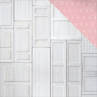 "Kaisercraft Rose Avenue 12x12"" Double Sided Scrapbook Paper Wood Panels"