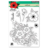 Penny Black Clear Stamp Radiant