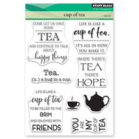 Penny Black Clear Stamp Cup of Tea