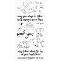 Picket Fence Studios Clear Stamp Friendly Mutts