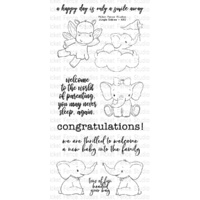 Picket Fence Studios Clear Stamp Jungle Babies