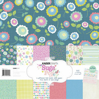 "Kaisercraft Suga Pop 12x12"" Paper Pack with Bonus Sticker Sheet"