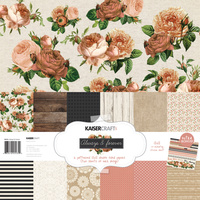 "Kaisercraft Always & Forever 12x12"" Paper Pack with Bonus Sticker Sheet"