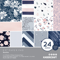 "Kaisercraft Breathe 6.5"" Paper Pad"