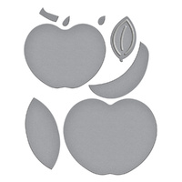 Spellbinders Die Shapeabilities Apple A Day