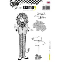 Carabelle Studio Cling Stamp A6 Oz 2016 The Lion