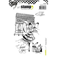 Carabelle Studio Cling Stamp A6 Champs Elysees By Soizic