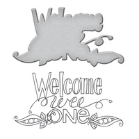 Spellbinders Stamp & Die Set Welcome Wee One by Tammy Tutterow