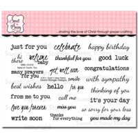 Sweet 'n Sassy Clear Stamps Keep in Touch, Too
