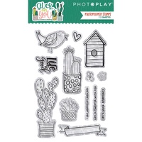 PhotoPlay Paper Stuck on You Photopolymer Stamp
