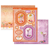 Hunkydory Sparkle & Shine Mirri Magic Topper Set Raise a Glass
