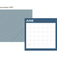 Simple Stories Life Documented Paper June Calendar