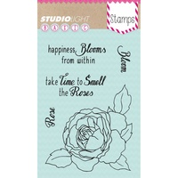 Studio Light Basic A6 Stamp Happiness Blooms