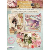Studio Light Romantic Pictures Diecut Card Toppers Pad 12pg
