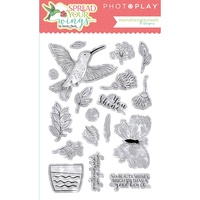 PhotoPlay Paper Spread Your Wings Photopolymer Stamp Set