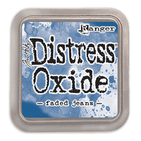 Ranger Distress Oxide Ink Pad Faded Jeans by Tim Holtz