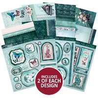 Hunkydory Teal Treasures A Fabulous Finishes Topper Collection