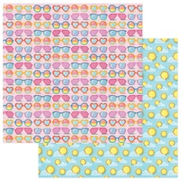 "PhotoPlay Paper Those Summer Days 12x12"" Paper Sunnies"