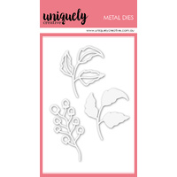 Uniquely Creative Die Foliage Outlines