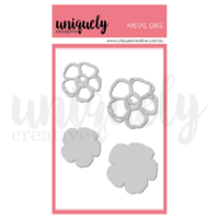 Uniquely Creative Die Chunky Scribble Flowers
