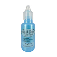 Ultimate Crafts Liquid Drops 3D Pearls Kingfisher