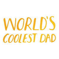 Ultimate Crafts Hotfoil Stamp Sweet Sentiments Coolest Dad