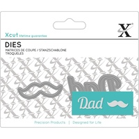 Xcut Mini Sentiments Die Dad