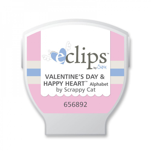 Sizzix Eclips Cartridge Valentine's Day Happy Heart