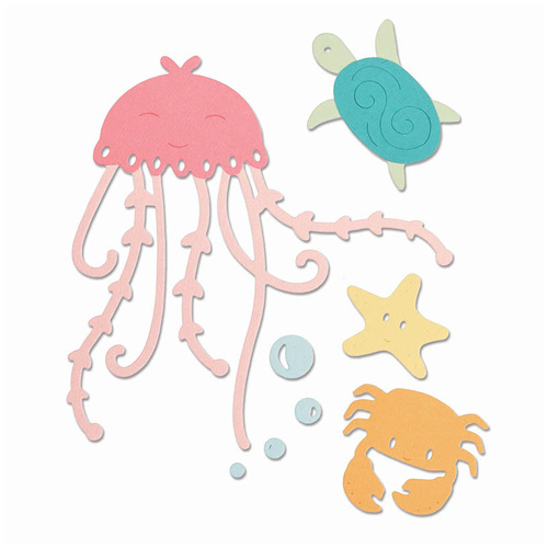 Sizzix Thinlits Die Under the Sea