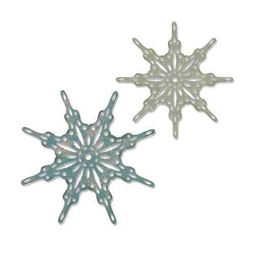 Sizzix Thinlits Die Fanciful Snowflakes