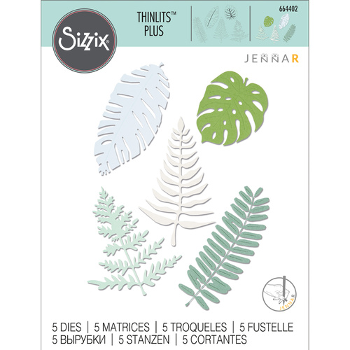 Sizzix Thinlits Plus Die Large Tropicals