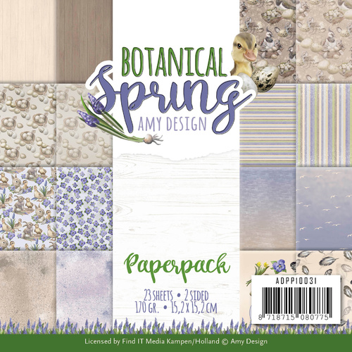 "Find It Trading Botanical Spring 6"" Paperpack"